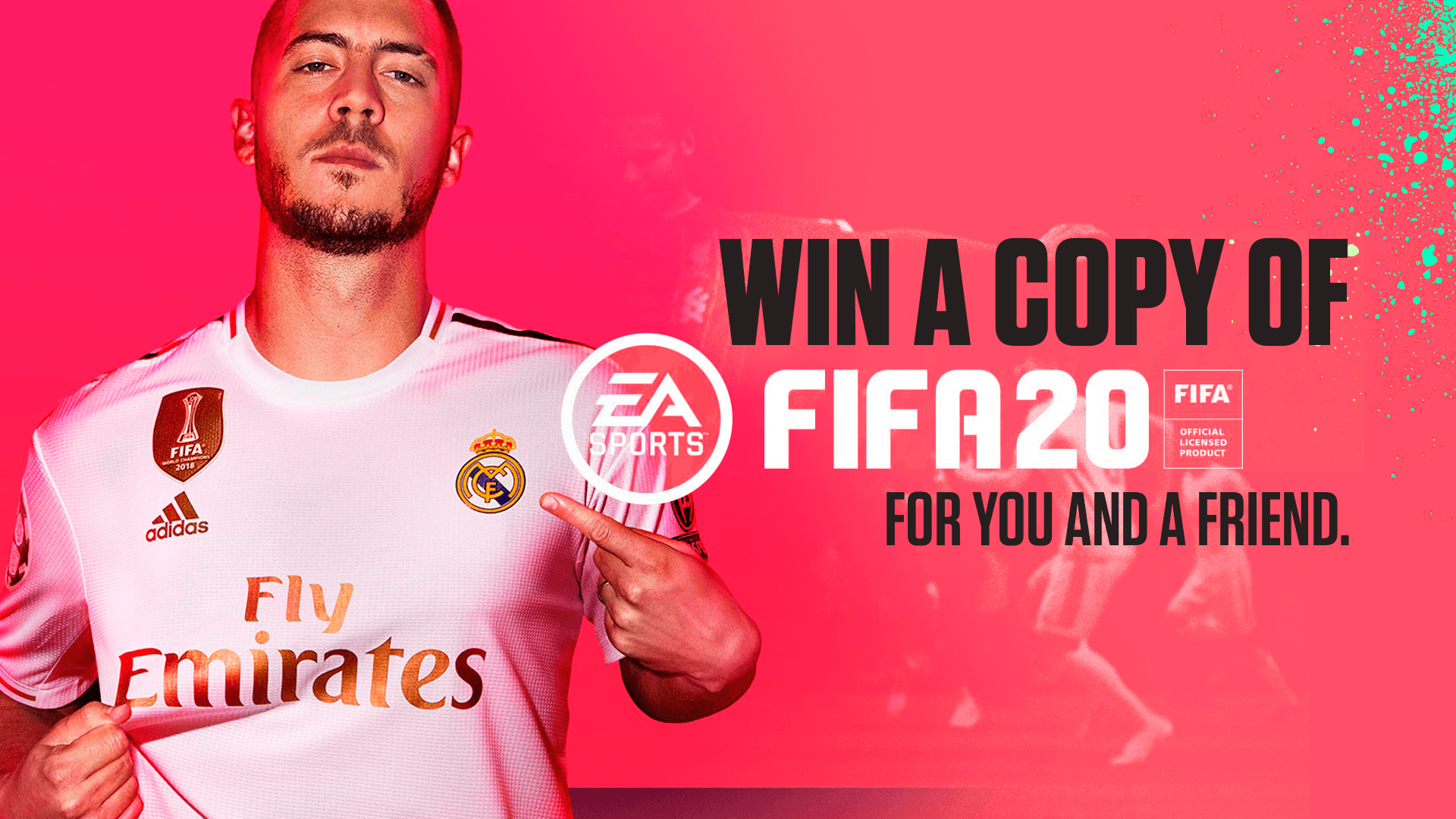 🎮 Win FIFA 20 for you and a friend!