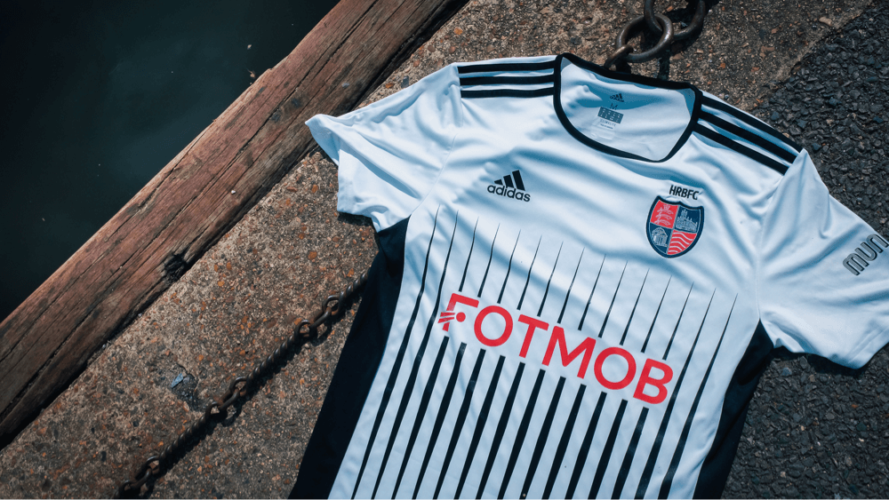 🔥 FotMob is sponsoring HRBFC. Here's the first look at the kit!