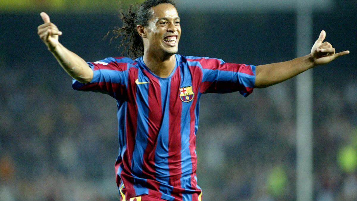 📺 Ronaldinho turns 40: Watch every goal he scored for Barcelona