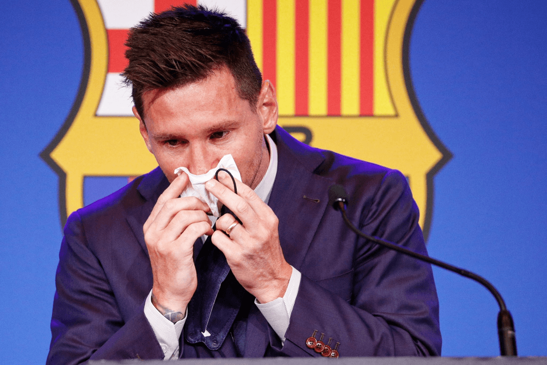 Watch Messi's farewell press conference